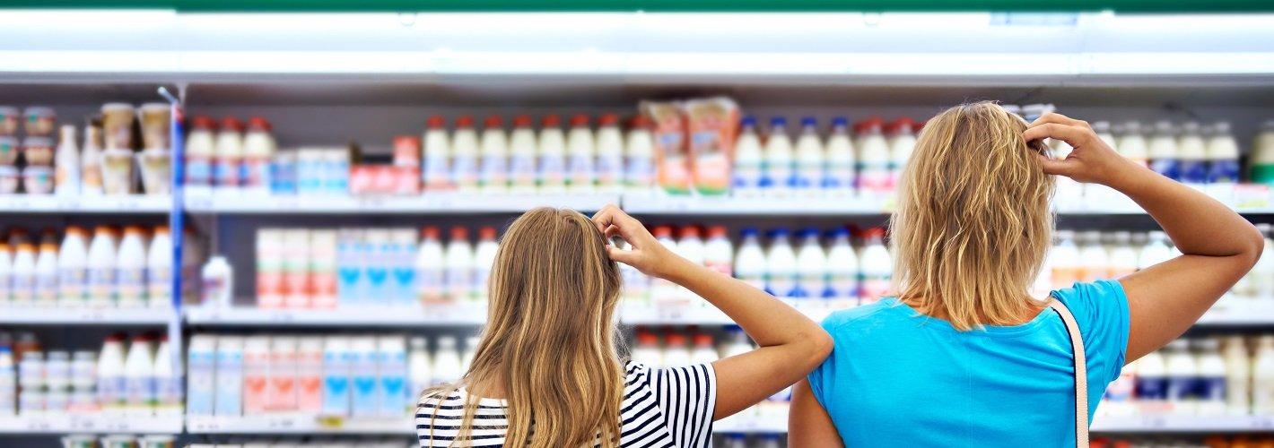 Warum im Supermarkt oft nur Einheitsmilch steht