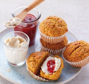 Kürbis-Muffins mit Hoffrischkäse, Rezepte